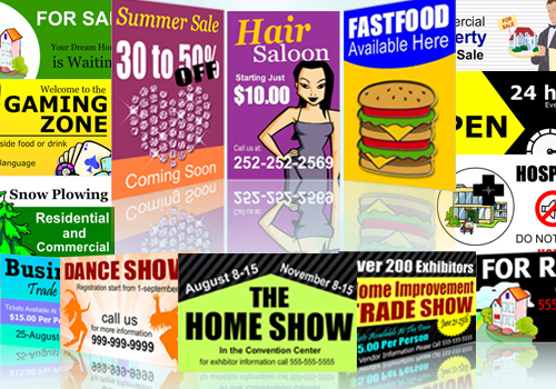 All Types Of Banners and Signs @ Bannerbuzz.com