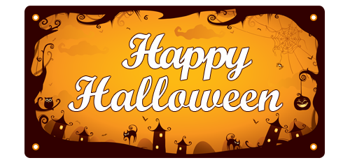 Make Your Halloween Party Come Alive with Customized Vinyl Banners ...