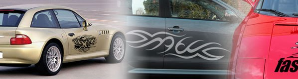 Car Decals  Stickers (Clear)