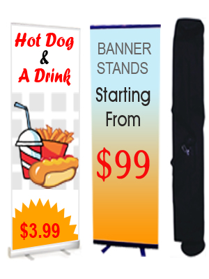 Retractable Banner Stands_Roll Up Banner Stands