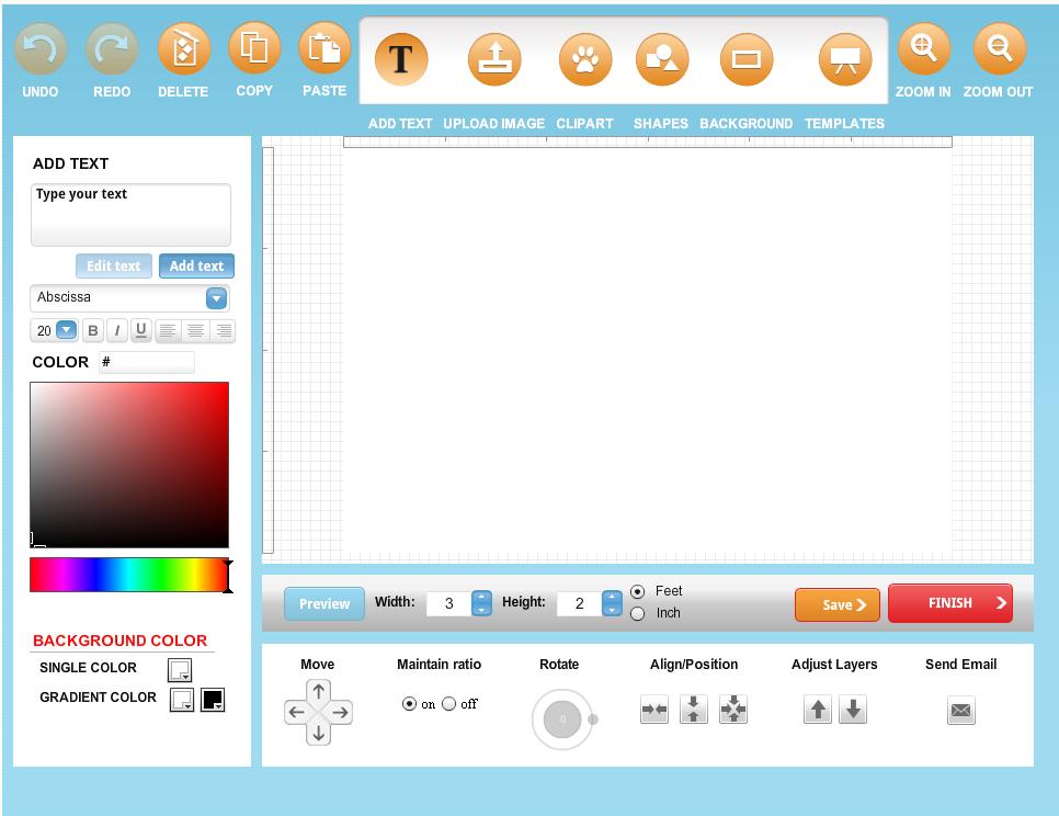 Bannerbuzz Design Tool