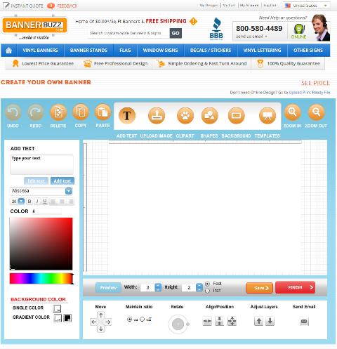 Design Banner - Design Tool BannerBuzz