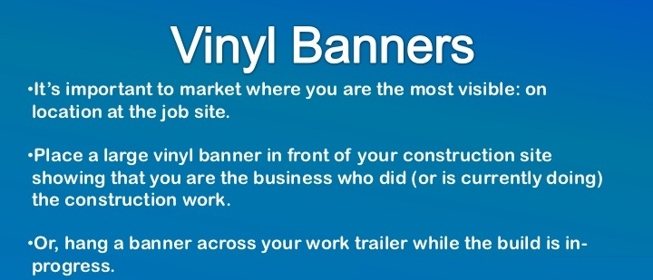 Build Your Business with Custom Banners & Vinyl Banners