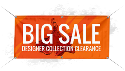 Buy Online Promotional banners