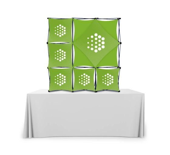 3x3 Micro GeoMetrix Table Top Display