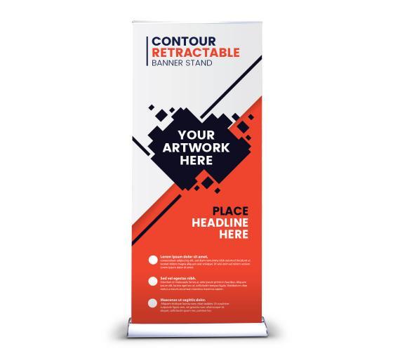 Contour Retractable Banner Stands