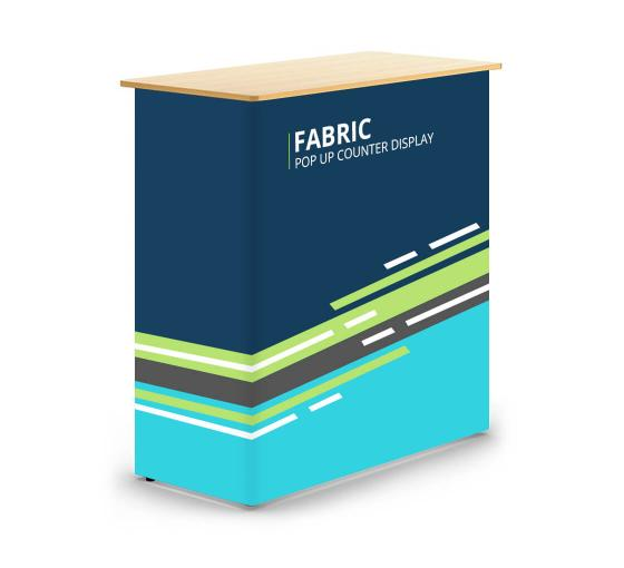 Fabric Pop Up Counter Display